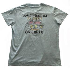 Aéropostale World's Greatest Planet Pastel T Shirt
